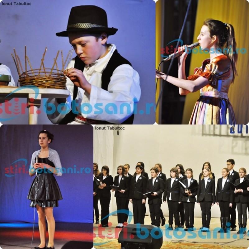 "Festivalul ""Artele Copilariei"", editia a VI-a, a debutat cu elevii de la Scoala Nr. 1 Copalau si C.N. ""Mihai Eminescu"" - FOTO, VIDEO"