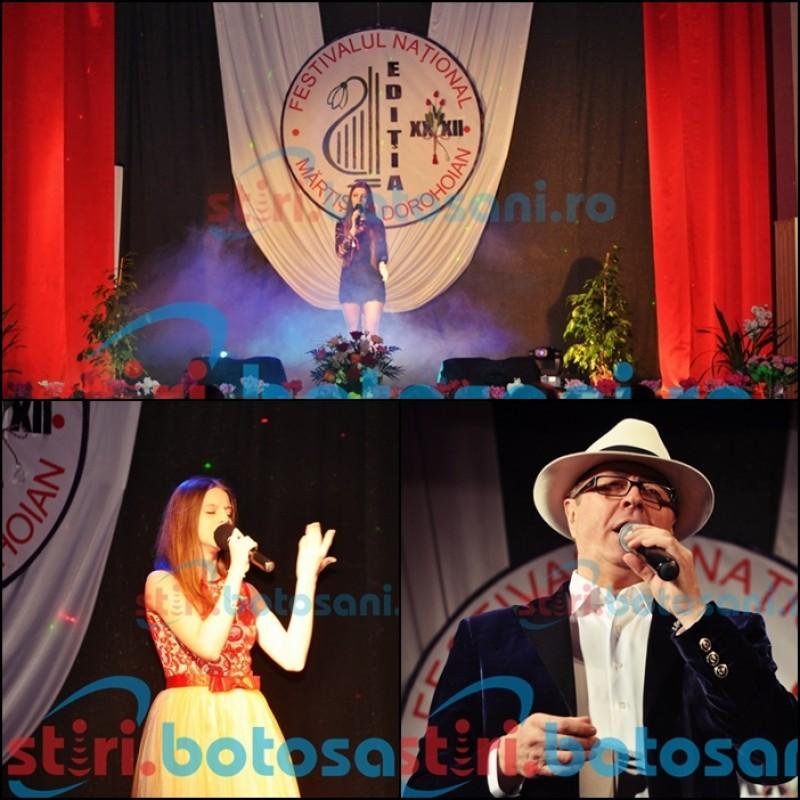 """Festivalul """"Martisor Dorohoian"""" a ajuns la editia cu numarul 32! Ion Suruceanu pentru prima data la Dorohoi - FOTO"""