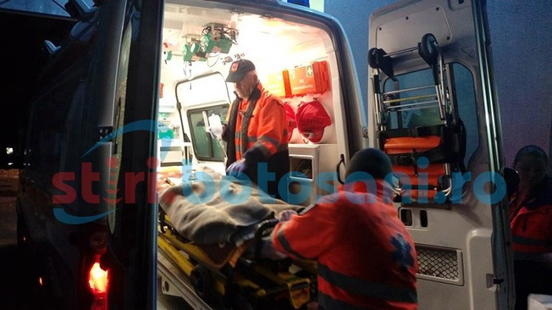 Fetiţă, de cinci ani, în stare gravă după accidentul de la Hudum