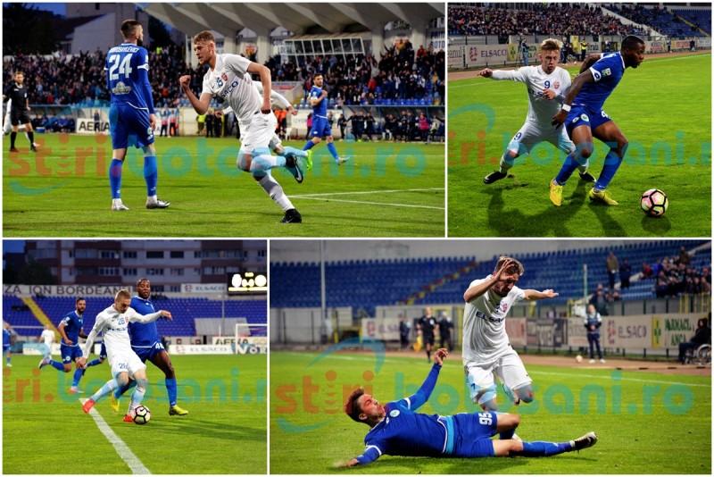 Rezultat cu repetitie! FC Botosani nu a reusit sa invinga Chiajna, intr-un meci in care Cobrea a oferit parada campionatului! GALERIE FOTO