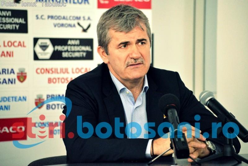 """Finanțatorul Botoșaniului nu renunță la Grozavu: """"Nu am nevoie de un «principal» nou!"""""""
