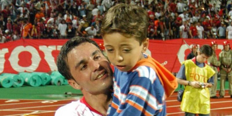 """Florentin Petre, mesaj emotionant pentru fiul sau, dupa scandalul de la nationala U21 a Romaniei: """"Capul sus nebunul meu frumos"""""""