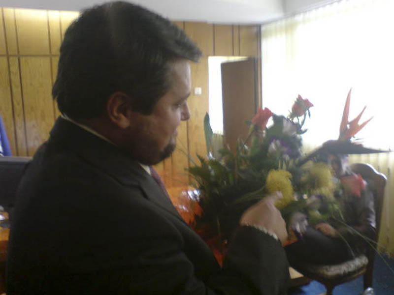Flori si icoane pentru Sorescu