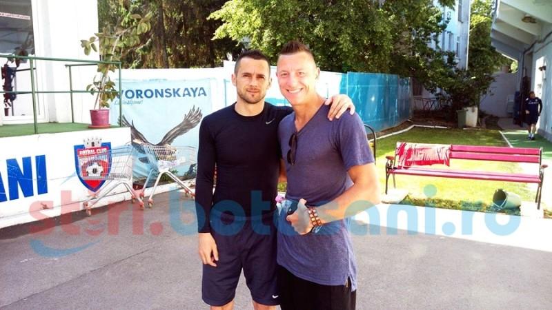 "Florin Acsinte a revenit la FC Botosani: ""Mi-a fost dor"" - FOTO"