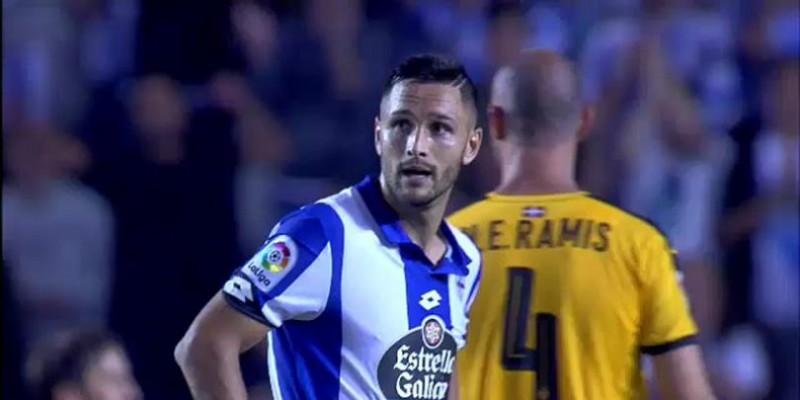 Florin Andone a marcat din nou, insa nu a ajutat-o pe Deportivo sa se salveze matematic de la retrogradare - VIDEO