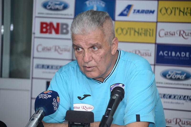 "Florin Marin, antrenorul timisorenilor: ""Este un meci de sase puncte"""