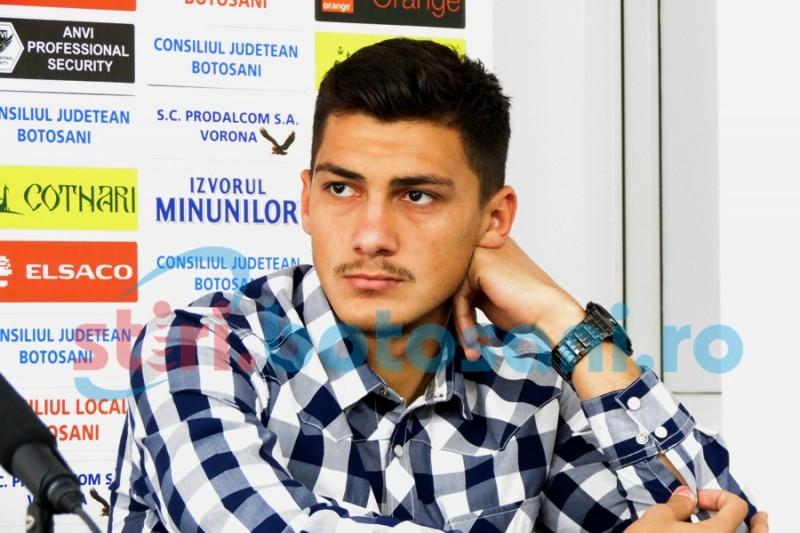 Florin Plămadă a revenit la FC Botoșani!