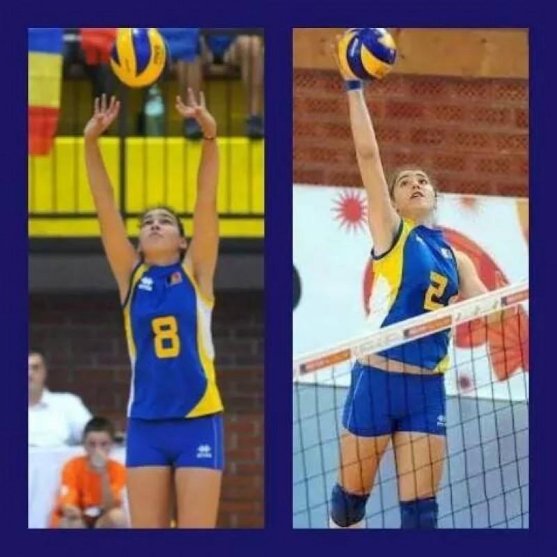 Florina si Karina Murariu, chemate din nou la echipa nationala a Romaniei U14 – Sperante