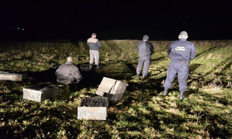 Focuri de armă la frontiera cu Ucraina pentru reţinerea unor contrabandişti! FOTO, VIDEO