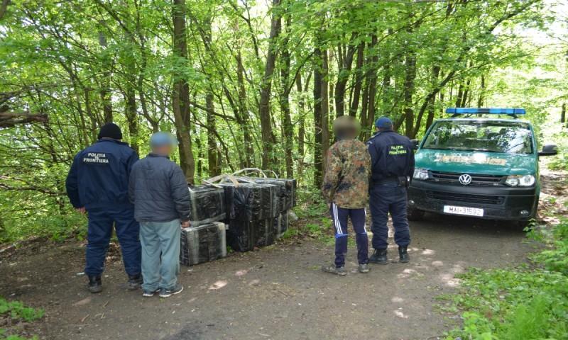 Focuri de armă la frontieră, pentru reţinerea unor contrabandişti! FOTO