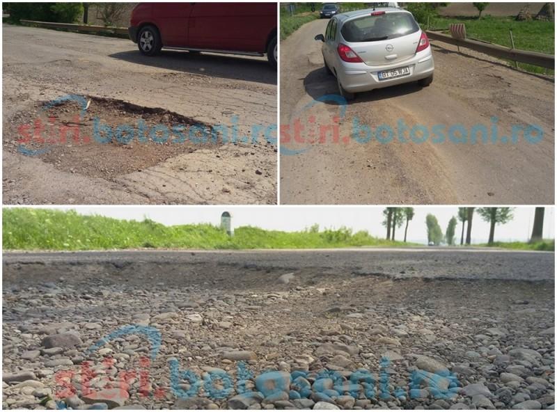 Fonduri europene pentru refacerea drumului dintre Botoșani și Iași