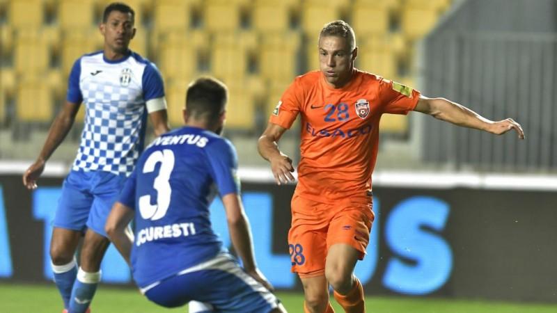 Formaţia FC Botoşani cotată ca marea favorită în meciul cu Juventus Bucureşti
