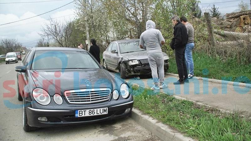 Fost consilier municipal implicat într-un accident rutier! FOTO