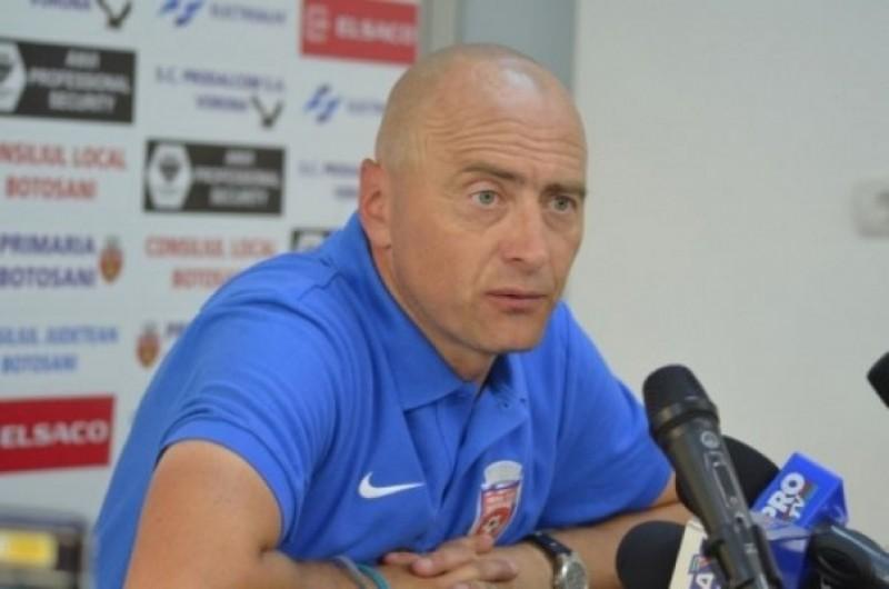 Fostul antrenor al FC Botoşani, Leo Grozavu, a semnat cu ACS Poli Timişoara