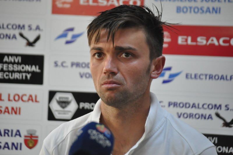 """Fostul jucator al Botosaniului, Andrei Poverlovici: """"Ma bucur pentru baieti ca si-au indeplinit obiectivul"""""""