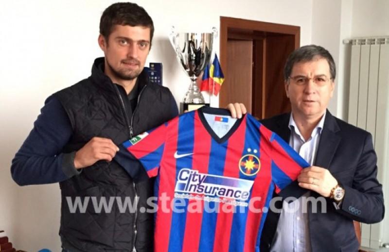 Fostul jucator al celor de la Dinamo, Gabi Tamaş, a semnat cu Steaua!