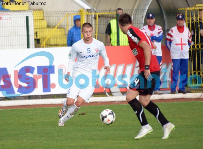 Fotbalist sucevean, speranta botosanenilor! Cine este jucatorul care a impresionat in meciul cu U.Cluj?