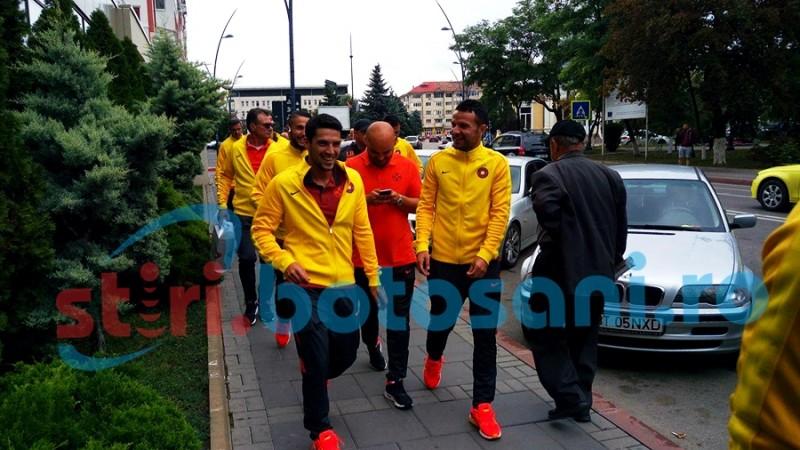 Fotbalistii de la Steaua s-au plimbat prin oras inaintea meciului cu FC Botosani! FOTO