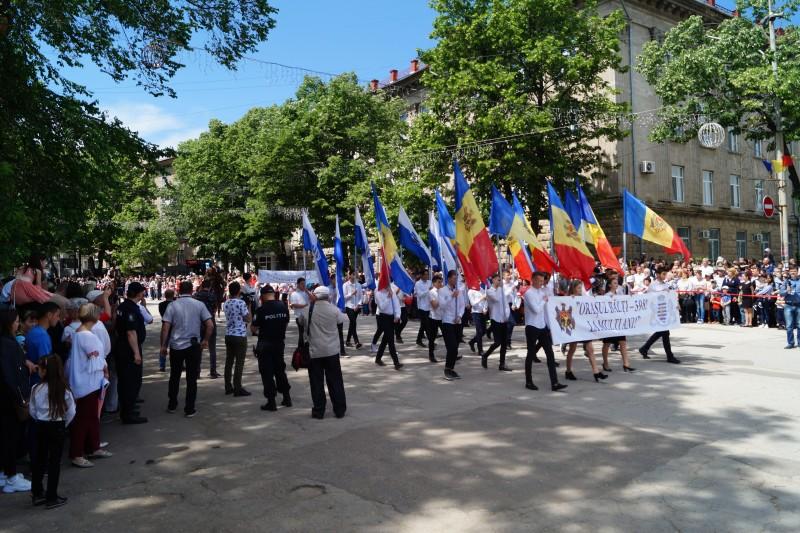 FOTO - Delegație a Primăriei Botoșani, prezentă la Zilele Municipiului Bălți