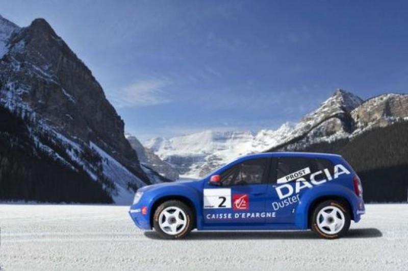FOTO! Poze cu Dacia Duster, SUV-ul de 350cp prezentat la Paris de Alain Prost