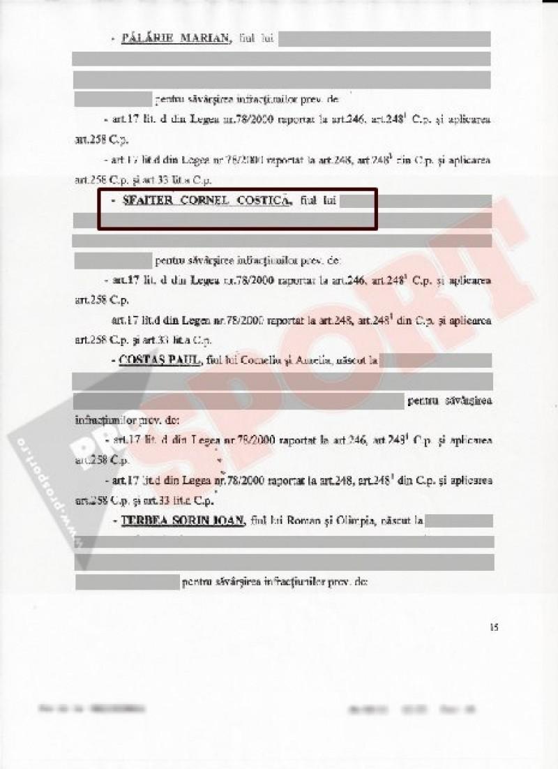 FOTO | Procurorii DNA au dispus inceperea urmaririi penale si impotriva lui Cornel Sfaiter!