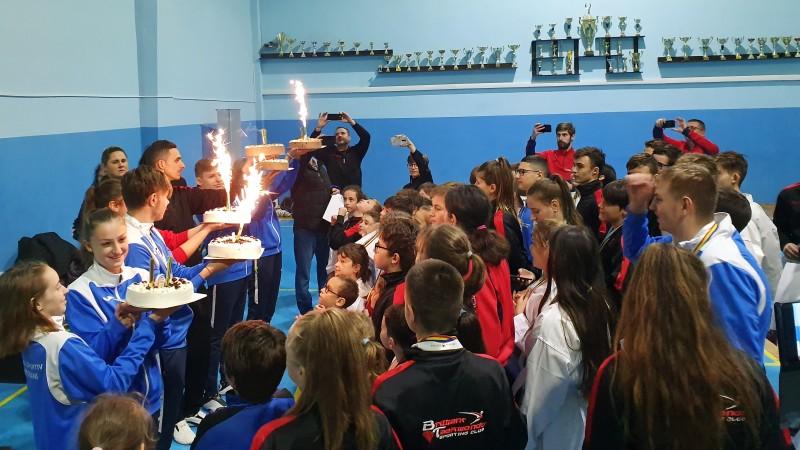 FOTO: Șase ani de performanțe naționale și internaționale, sărbătoriți de Asociația Brilliant Taekwondo Sporting Club din Botoșani