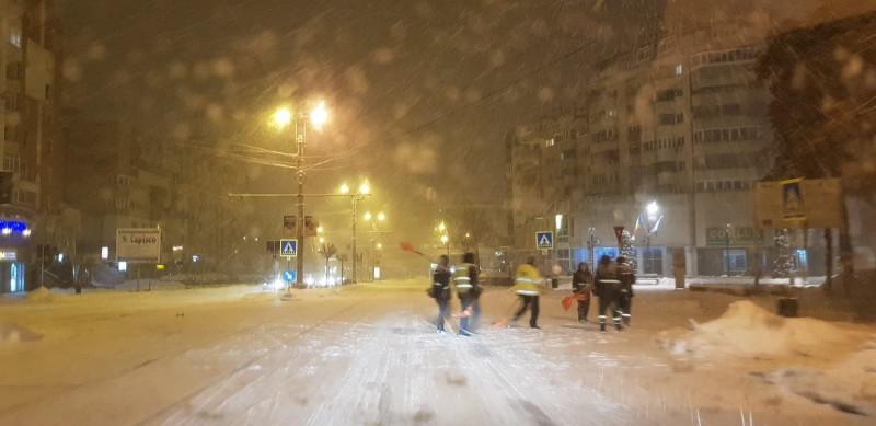 FOTO, VIDEO - Botoșaniul sub zăpadă