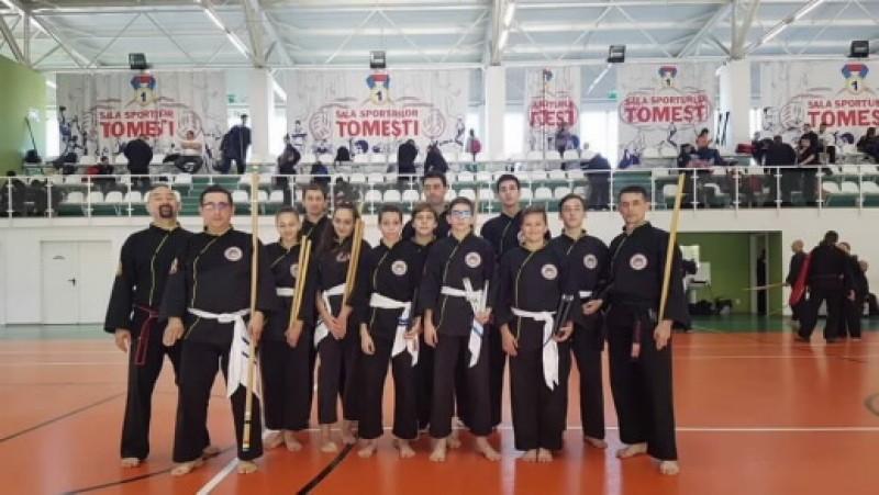 FOTO: Zece sportivi botoșăneni au participat la un stagiu național de Co Vo Dao