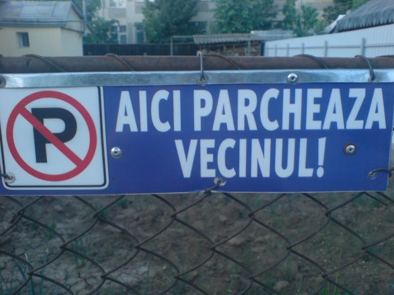 FOTOGRAFIA ZILEI: Atentie, AICI PARCHEAZA VECINUL!