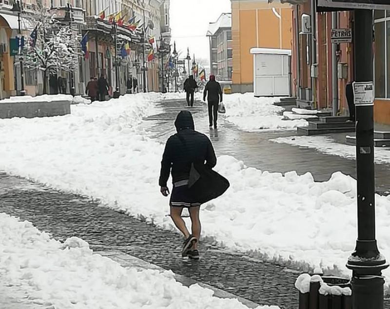 FOTOGRAFIA ZILEI: Căldură mare la Botoșani!