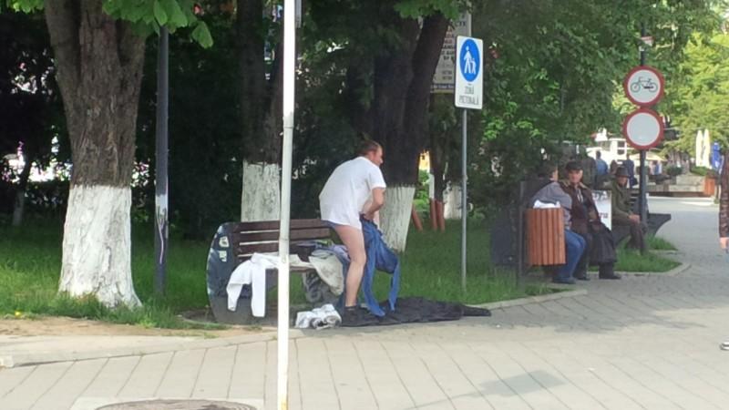 Fotografia zilei: În Botoşani, oamenii se simt peste tot... ca acasă!