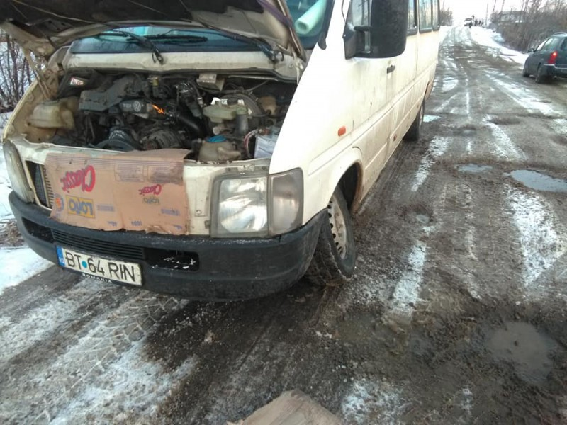 """Fotografia zilei vine de la Vorniceni: """"Unde este siguranța pasagerilor?!"""""""