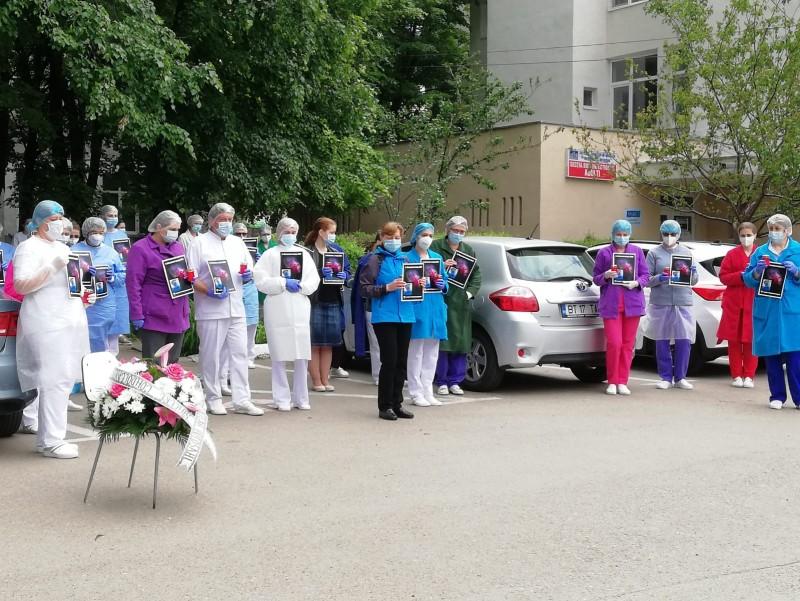 Foto&Video: Lacrimi de durere pentru asistenta medicală de la Spitalul de Infecțioase. Astăzi va fi condusă pe ultimul drum