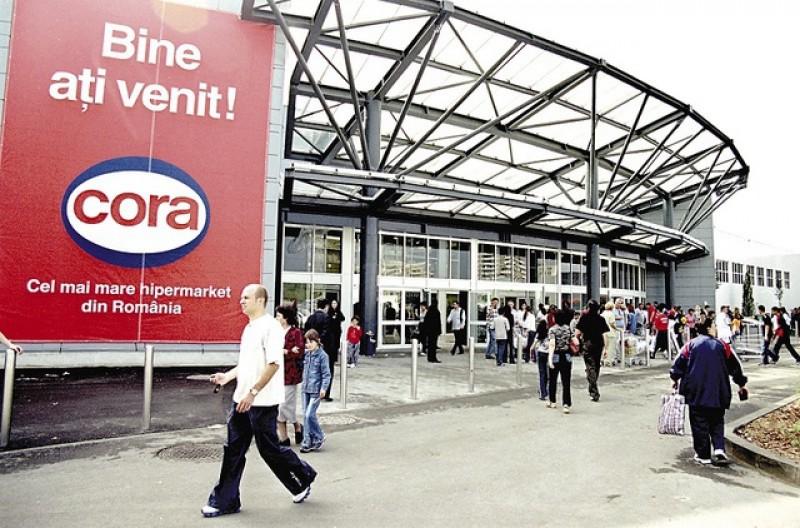 Franco-belgienii care deţin hipermarketurile Cora tatonează din nou vânzarea operaţiunilor din România