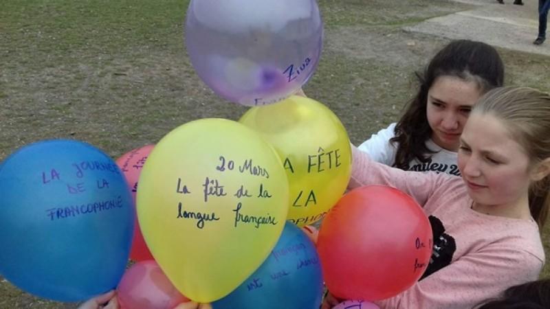 "Francophones en fête la Școala Gimnazială ""Ion Bojoi"""