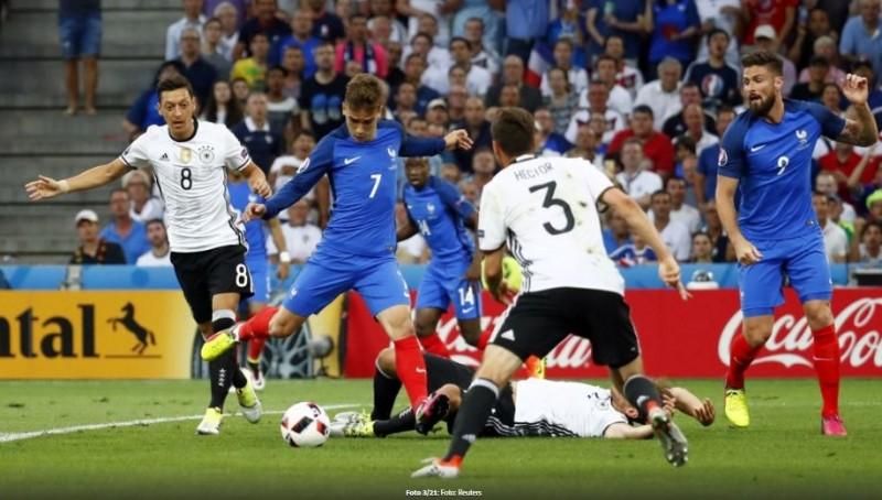 Franța joacă finala EURO cu Portugalia! Griezmann a trimis Germania acasă