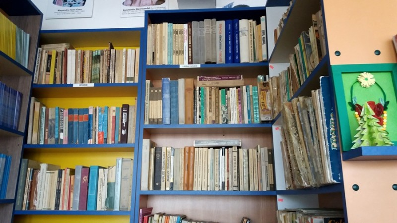 Frumuseţea cărţilor stă în ochii celei ce le îngrijeşte! Despre o bibliotecară şi rafturile cu minuni FOTO