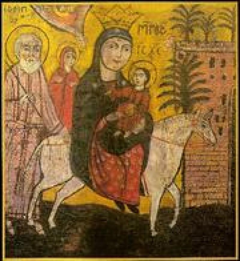 Duminica după Nașterea Domnului: Fuga în Egipt!