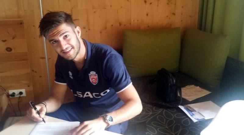 """Fundașul Andrei Pițian a semnat cu FC Botoșani. """"Sper să construim o echipă cu care să nu ne facem de râs"""", spune Iftime!"""