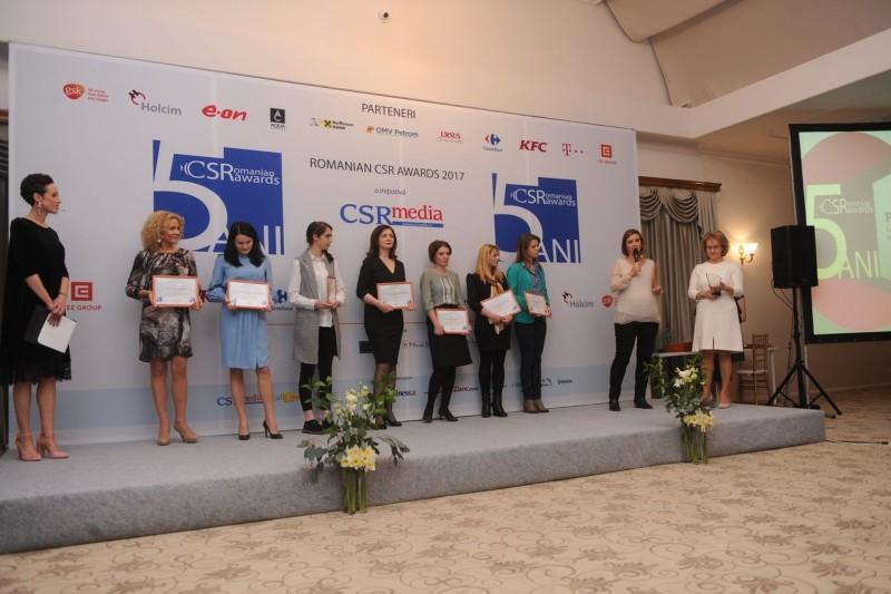 Fundația Grupului de firme Electroalfa, premiată la Gala Romanian CSR Awards 2017! FOTO, VIDEO