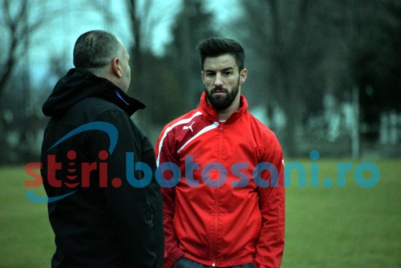 Gabriel Enache a venit la Botosani, dar va pleca vineri pentru a semna cu Steaua! FOTO