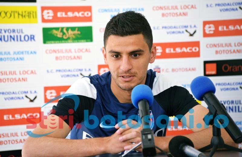 Gabriel Vasvari la un pas de a pleca de la FC Botosani!