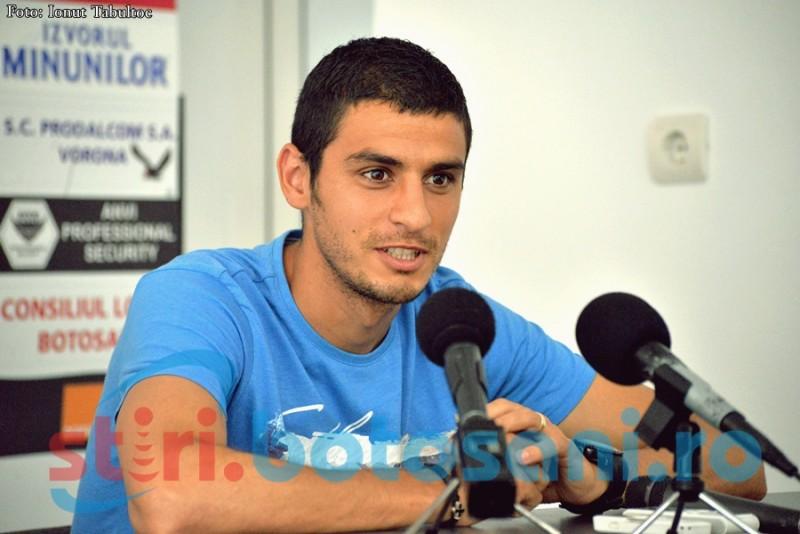"""Gabriel Vasvari: """"Nu ne interesează să fie un joc spectaculos. Noi punem preţ pe cele trei puncte"""""""