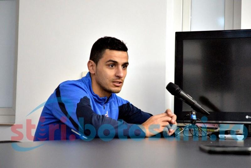 "Gabriel Vasvari: ""Nu trebuie sa fim fricosi, ci doar sa jucam fotbalul pe care il stim"""