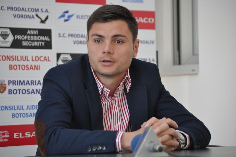 "Galateanul George Cirjan: ""Decat sa dau iar gol si sa piarda echipa, mai bine sa dea altcineva gol si sa castigam"""