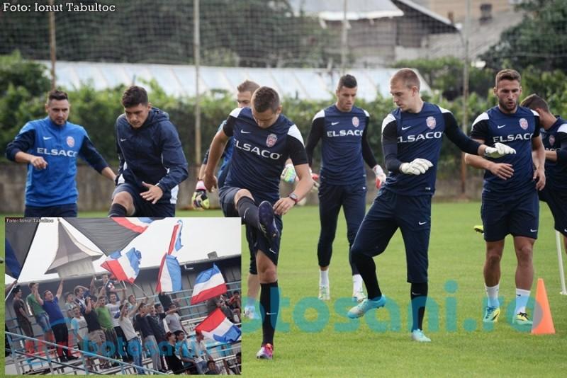Galeria FC Botosani a facut spectacol la ultimul antrenament! Vezi FOTO si VIDEO!