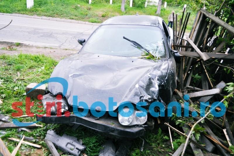 """Gard distrus de un șofer din Botoșani cu grade la """"bord""""!"""