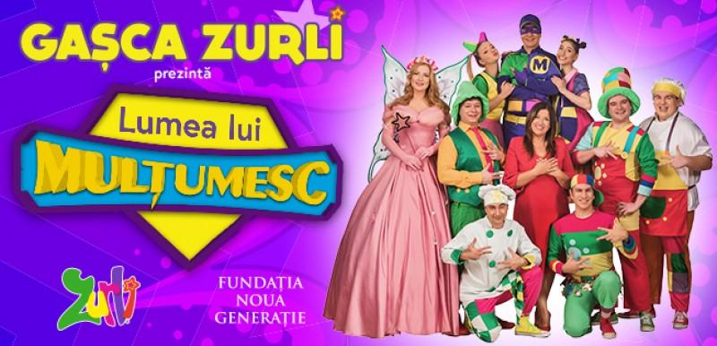 Gașca Zurli ajunge la Botoșani pe 29 martie