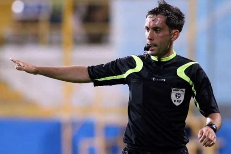 George Găman delegat să arbitreze FC Botoşani şi CSMS Iaşi în Cupa României