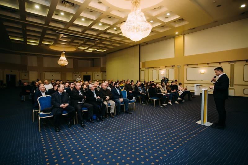 """George Simion: """"La Botoșani nu trebuie să mă justific de ce sunt eu unionist"""""""